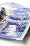 Twenty Pound notes Stock Image