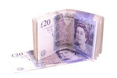 Twenty pounds Royalty Free Stock Photos