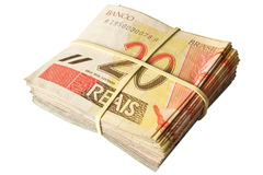 Twenty reais Stock Photography