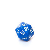 Twenty-sided dice Royalty Free Stock Photography