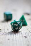 Twenty sided dice Stock Image