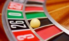 Twenty six roulette Royalty Free Stock Image