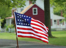 Twenty Six Star U.S. Flag. Stock Photos