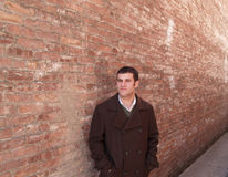 Twenty Something in Alley Stock Images