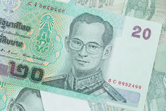 Twenty Thai Baht Stock Photos