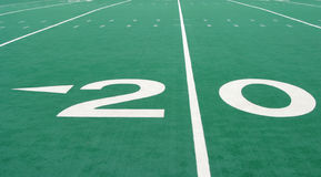 Twenty Yard Line Stock Photos