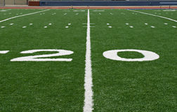 Twenty Yard Line Stock Photo