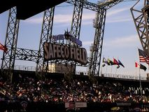 Safeco Field Seattle Mariners Baseball Field End of Era. Twenty year run as Safeco Field baseball stadium for Seattle Mariners comes to an end. T-Mobile takes on stock photos