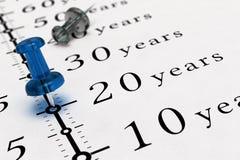 Twenty Years Duration Stock Image