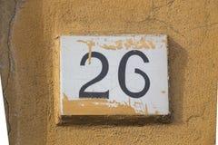 Twentysix Royalty Free Stock Photography