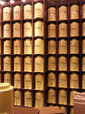 TWG tea shop display Royalty Free Stock Photo