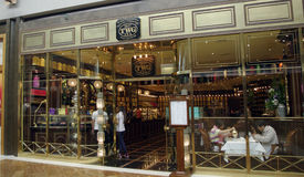 TWG tea shop Royalty Free Stock Photos