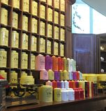 TWG tea store display Royalty Free Stock Photos