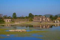 Twice as beautiful, Roopmati Mahal, Mandu, Madhya Pradesh Stock Images