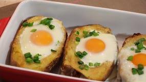 Twice baked potato Stock Photos