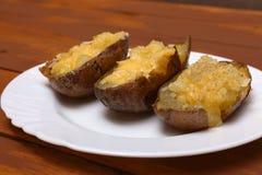Twice baked potatoes Stock Image
