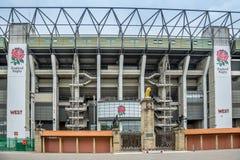 Twickenham Stadium immagini stock libere da diritti