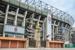 Twickenham Stadium foto de stock royalty free
