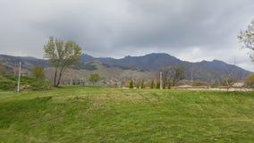从Twida城堡的山景 库存图片