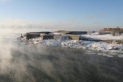 twierdzą Suomenlinna Zdjęcie Stock