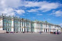 Twierdzi eremu muzeum i kwadrat, St Petersburg, Rosja obrazy stock
