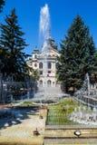 Twierdzi teatr i fontannę w Kosice, Sistani Obraz Stock