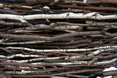 Twig background Stock Photo