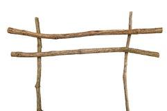 Twig frame. Stock Image