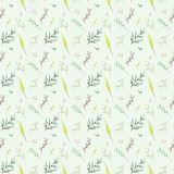 Twig Pattern. Repetitive vector seamless twig doodle pattern Royalty Free Stock Image