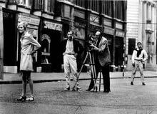 Twiggys在1965年首先射击 免版税库存图片