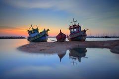 Twilight большое судно Стоковые Фото