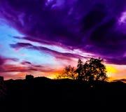 Twilight время Стоковое Изображение