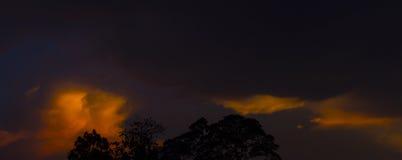 Twilight время Стоковые Фото