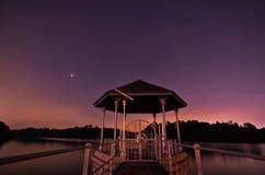 Twilight небо Стоковые Изображения
