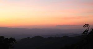 Twilight небо Стоковое Изображение RF
