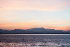Twilight небо Стоковые Изображения RF