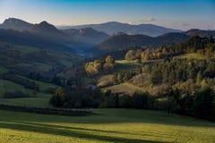 Twilight долина Стоковая Фотография