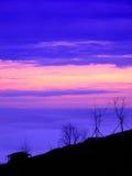 Twilight пейзаж Стоковая Фотография