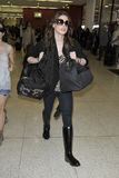 Twilight actress Ashley Greene at LAX airport Royalty Free Stock Image