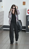 Twilight actress Ashley Greene at LAX airport Stock Photos
