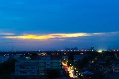 Twilight Bangkok Royalty Free Stock Images