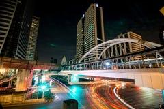 Twilight in bangkok thailand Royalty Free Stock Photos