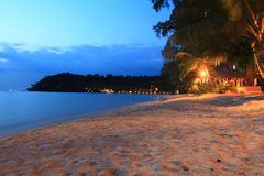 Twilight at the beach, Koh Kood, Thailand Royalty Free Stock Image