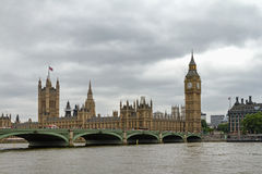 Twilight of the British Parliament. London Royalty Free Stock Image