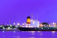 Twilight cargo transport Stock Photos