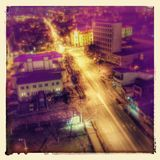 Twilight. In city of Nis in Serbia Stock Images
