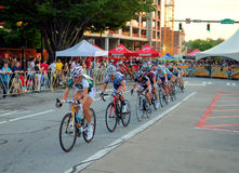 Twilight Criterium Bike Race Royalty Free Stock Image