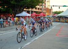Twilight Criterium Bike Race Royalty Free Stock Image