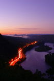 Twilight at Delaware Water Gap Royalty Free Stock Photography