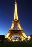 Twilight Eiffel tower Royalty Free Stock Image